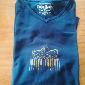 T shirt « le pianO du lac »